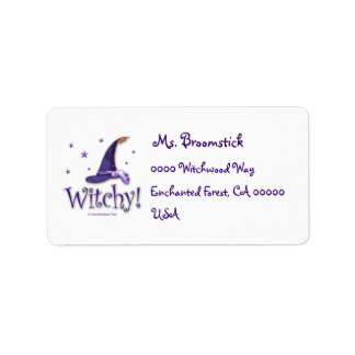 Witchy Address Label