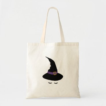 Halloween Themed Witchy Lashes Tote Bag