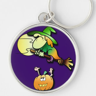Witchy Learns to Fly Keychain