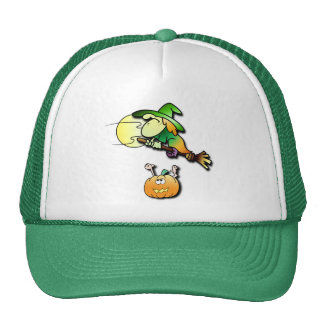 Witchy Learns to Fly Trucker Hat