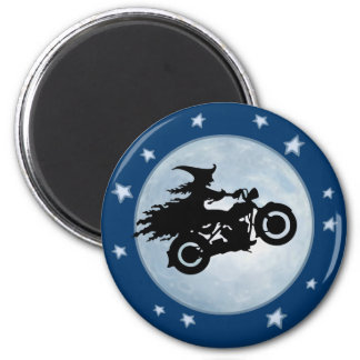 Witchy Mama 2 Inch Round Magnet