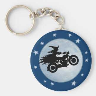 Witchy Mama Basic Round Button Keychain