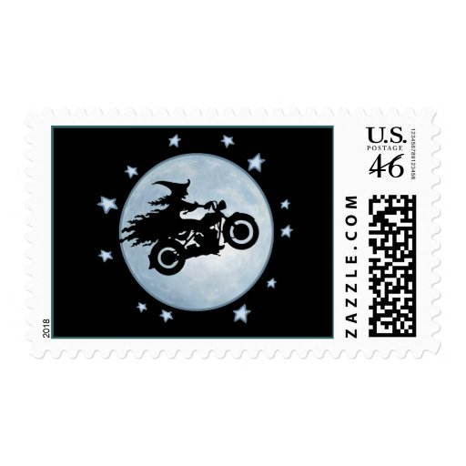 Witchy Mama Postage Stamp