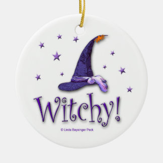 Witchy Christmas Tree Ornaments