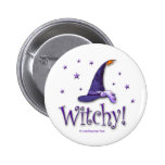 Witchy Pinback Buttons