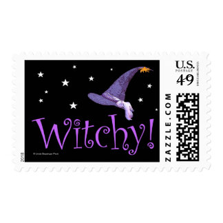Witchy Stamps