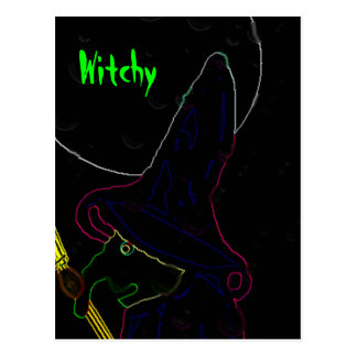Witchy Postales