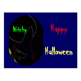 Witchy Postcard