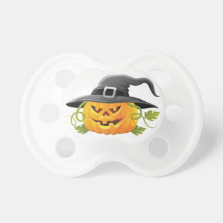 Witchy Pumpkin BooginHead Pacifier
