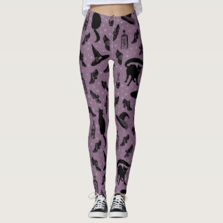 Witchy Shoes Pattern Leggings