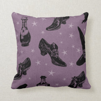 Witchy Shoes Throw Pillow