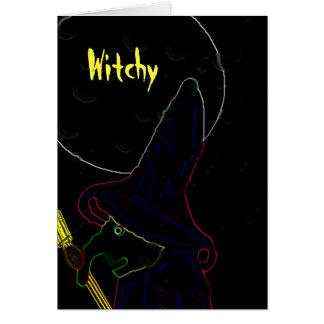 Witchy Tarjeta Pequeña