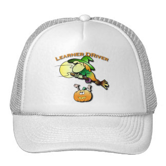 Witchy the Learner Driver Trucker Hat