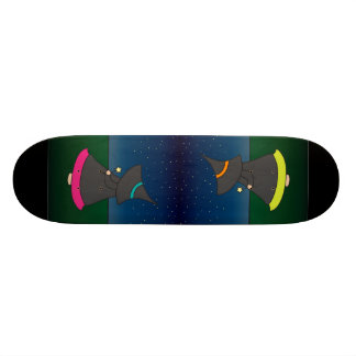 Witchy Wendy Magic Girl's Skateboard