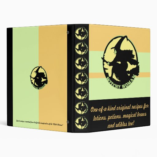 Witchy Woman Vinyl Binder