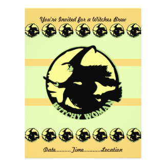 Witchy Woman Flyer