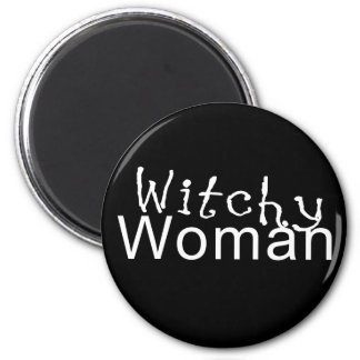 Witchy Woman Gifts 2 Inch Round Magnet