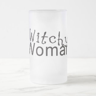 Witchy Woman Gifts Frosted Glass Beer Mug