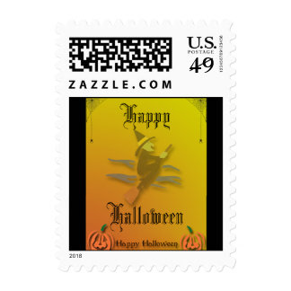 Witchy Woman Halloween Postage