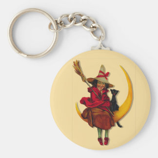 Witchy Woman Keychain