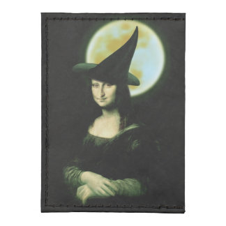 Witchy Woman Mona Lisa Halloween Card Wallet