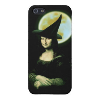 Witchy Woman Mona Lisa Halloween iPhone SE/5/5s Case