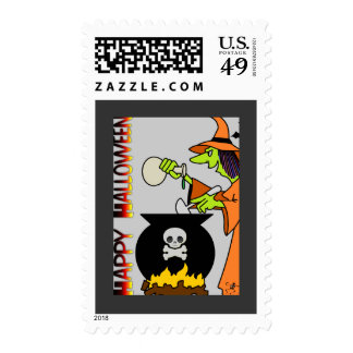 Witchy Woman Postage Stamps