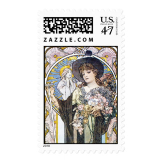 Witchy Woman Postage Stamp
