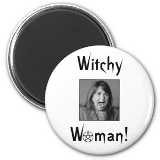 Witchy Woman! Refrigerator Magnets