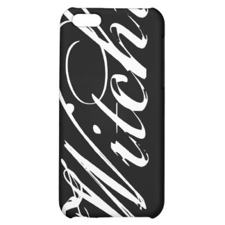 Witchy (YOU choose your background color) iPhone 5C Cover
