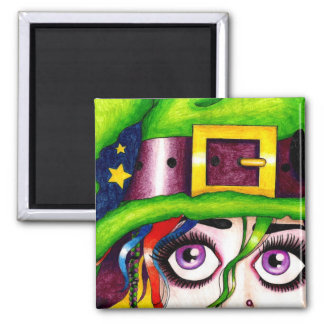 witchypoo 2 inch square magnet
