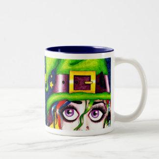 witchypoo Two-Tone coffee mug