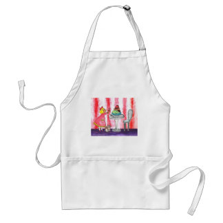 With a cherry on top! adult apron