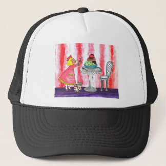 With a cherry on top! trucker hat
