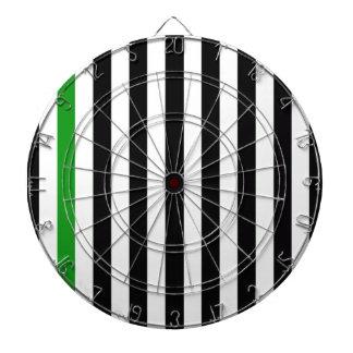 With A Green Stripe Dartboard