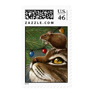 With a little help from my friends... postage stamps