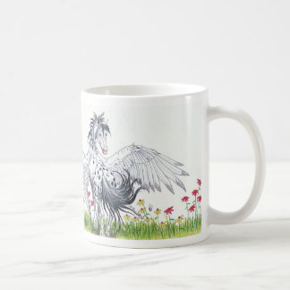 with a little imagination coffee mug