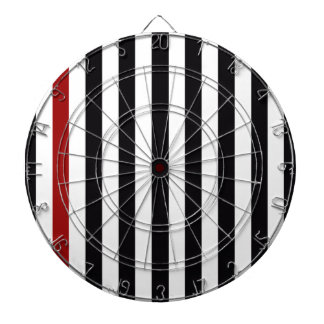 With A Red Stripe Dart Board