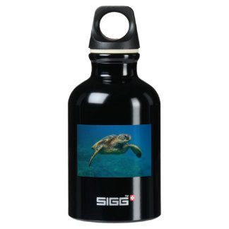 with a sea turtle picture SIGG traveler 0.3L water bottle