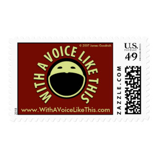 With A Voice Like This Stamps