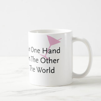 With A Wand In One Hand... Coffee Mugs