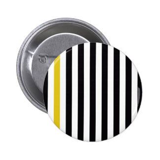 With A Yellow Stripe Pinback Button