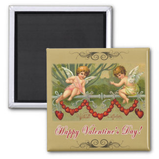 With All Affection 2 Inch Square Magnet