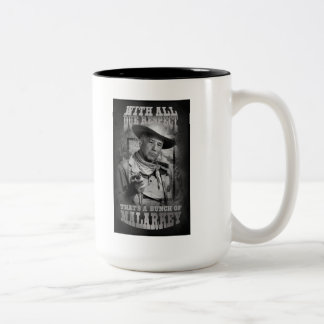With All Due Respect Two-Tone Coffee Mug