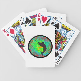 WITH AMAZING PRECISION BICYCLE PLAYING CARDS