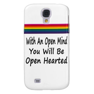 With An Open Mind You Will Be Open Hearted Samsung Galaxy S4 Cover
