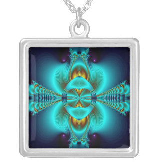 With Arms Wide Open Square Pendant Necklace