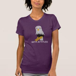 """WITH ATTITUDE"" Ladies T-Shirt"