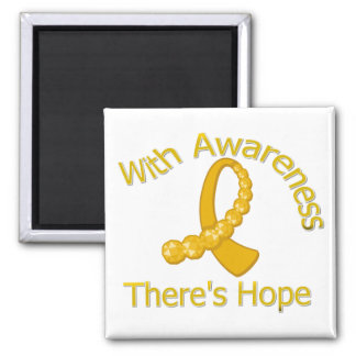 With Awareness There's Hope Appendix Cancer Magnet