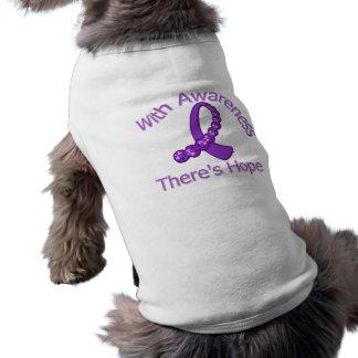 With Awareness There's Hope Crohn's Disease Pet Tshirt